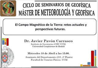 El Campo Magnético de la Tierra: retos actuales y perspectivas futuras