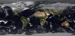 Febrero 2018 desde el espacio