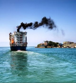 Reduciendo las emisiones en el transporte marítimo