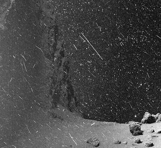"""La """"nieve"""" espacial"""