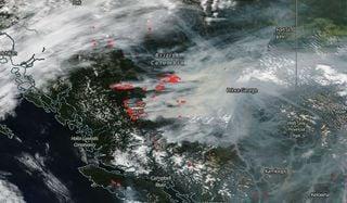 Emergencia en Canadá por megaincendios