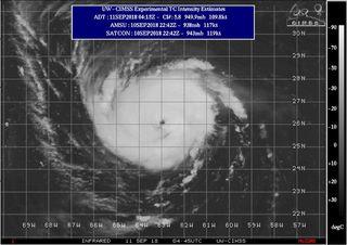 Florence: un poderoso huracán de categoría 4 que impactará en la costa este de los EE.UU.