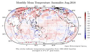 Agosto de 2018 a nivel global: el 6º de los agostos