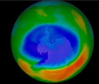 Protección para la capa de ozono: las moléculas de azúcar se unen a los CFC dañinos