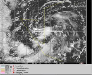 Se forma la compleja tormenta subtropical Leslie