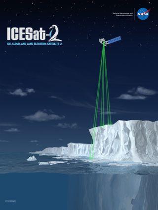 ICESat-2: midiendo el movimiento y el espesor del hielo marino polar