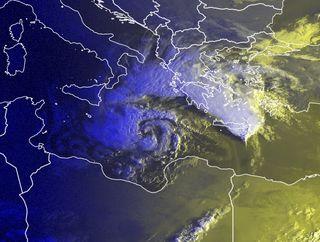 ¿Es correcto hablar de huracanes en el Mediterráneo?