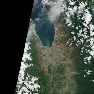 Devastación en Palu después del terremoto y tsunami