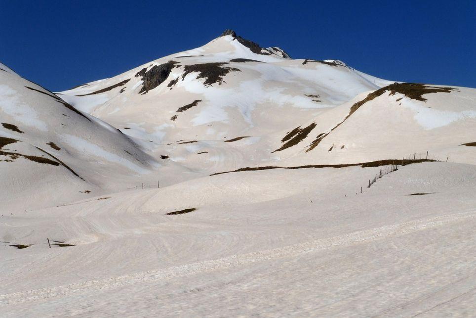 Polvo sahariano y acelerada fusión de la nieve