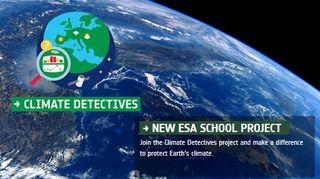 Detectives del clima: proyecto de la ESA para jovenes estudiantes