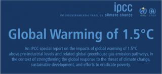 """El informe sobre el cambio climático es una llamada de """"alerta"""" al calentamiento global de 1.5 ° C"""