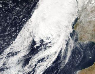 El paso de ex Leslie por la península Ibérica