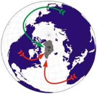 El chorro polar, polvo del Sahara y Ártico