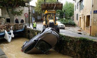 Las lluvias torrenciales y las inundaciones repentinas causan 12 muertos en sureste de Francia