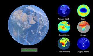 Las mediciones del ozono por Sentinel-5P mejoran los pronósticos diarios