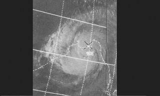 """El ciclón tropical que """"creó"""" un estado"""