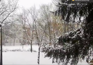 Heavy snow spotted across Eastern Europe and the Balkans