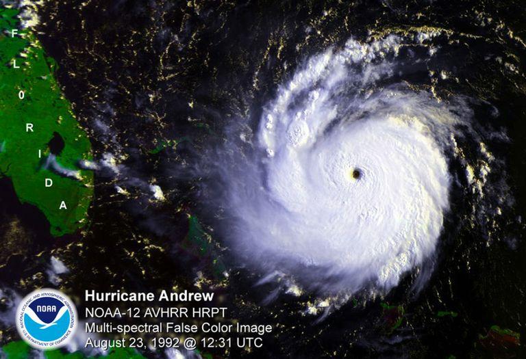 satelite huracan andrew caribe florida tifon ciclon tropical
