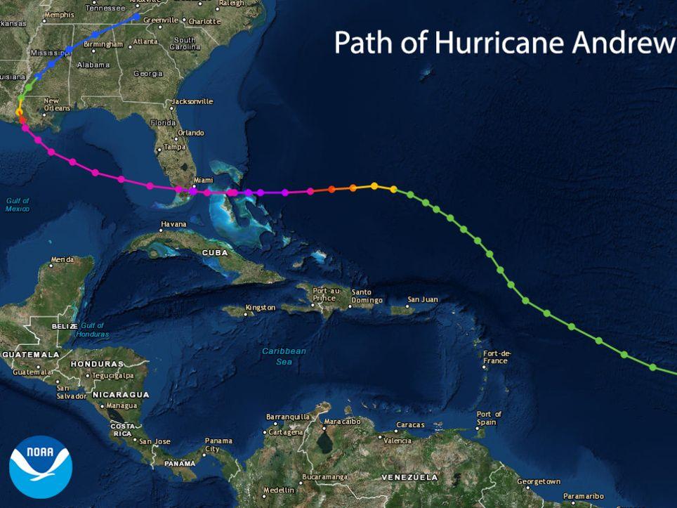 trayectoria caribe temporada huracanes bahamas flotida louisiana