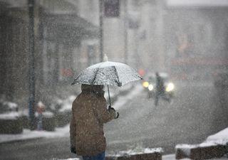 UK snow forecast: Cold polar air with snow and sleet