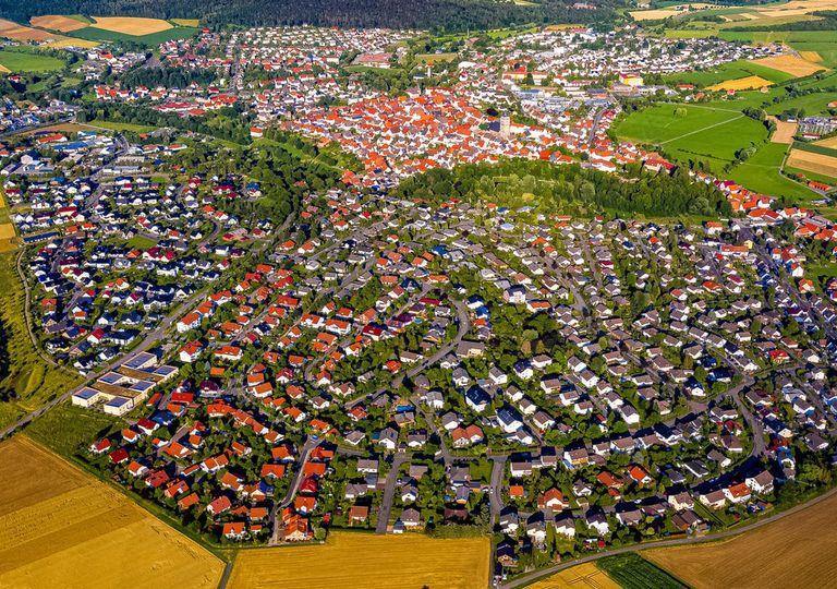 A cidade de Wolfwagen, energia renovável