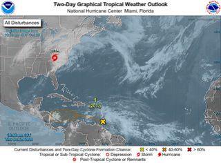 A finales de octubre, el Atlántico tropical sigue algo activo