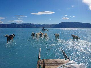 A gravidade da situação do Ártico em uma imagem