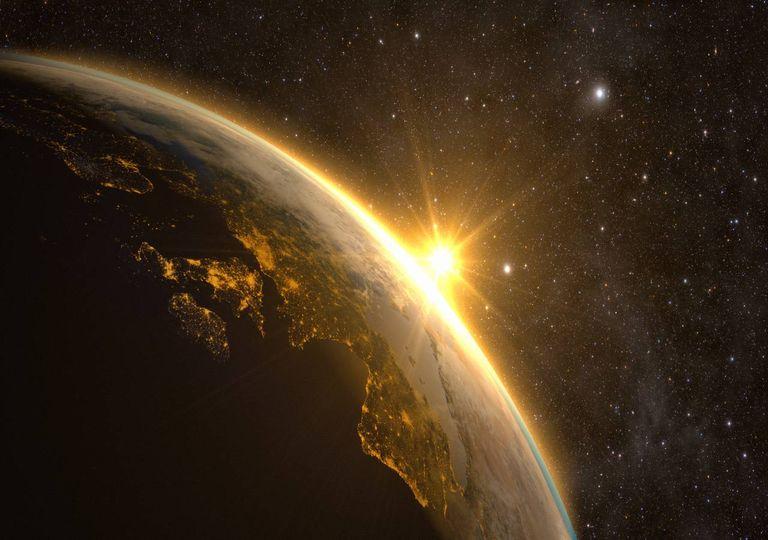 Luz solar; Terra