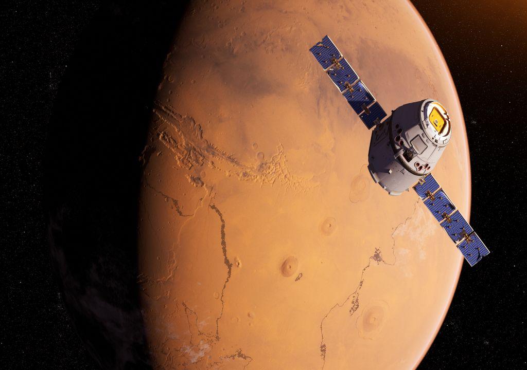 Marte; tempo; previsão; clima