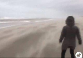 A Tempestade Ciara já causou mortes e estragos impressionantes