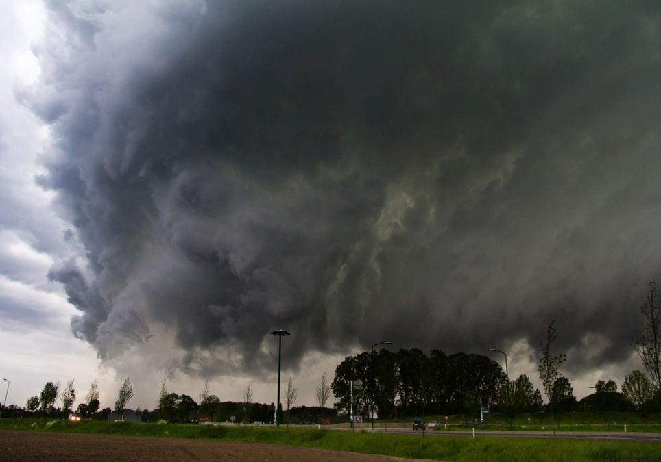 Unwetterwarnung Ettlingen