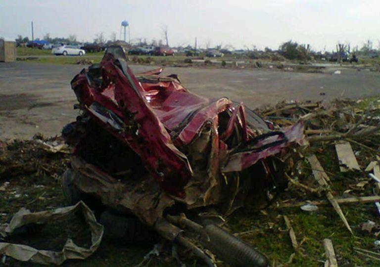 Tornado-Rekord USA April 2011