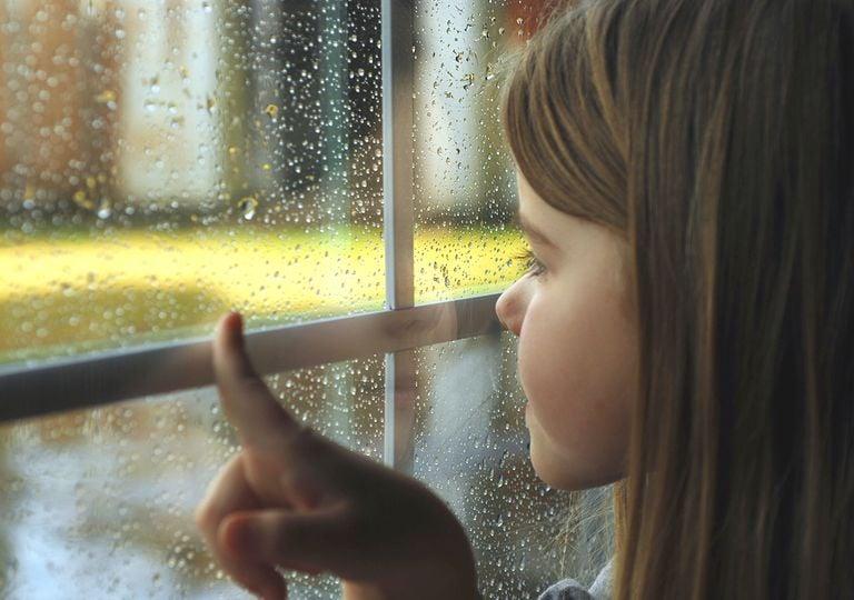 Lluvia y ventana