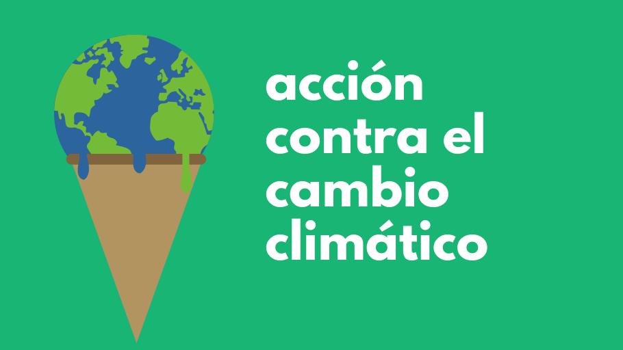 Acción contra el cambio climático