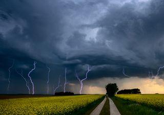 Achtung: Unwetter durch Starkregen und Hagel ab heute Nachmittag!