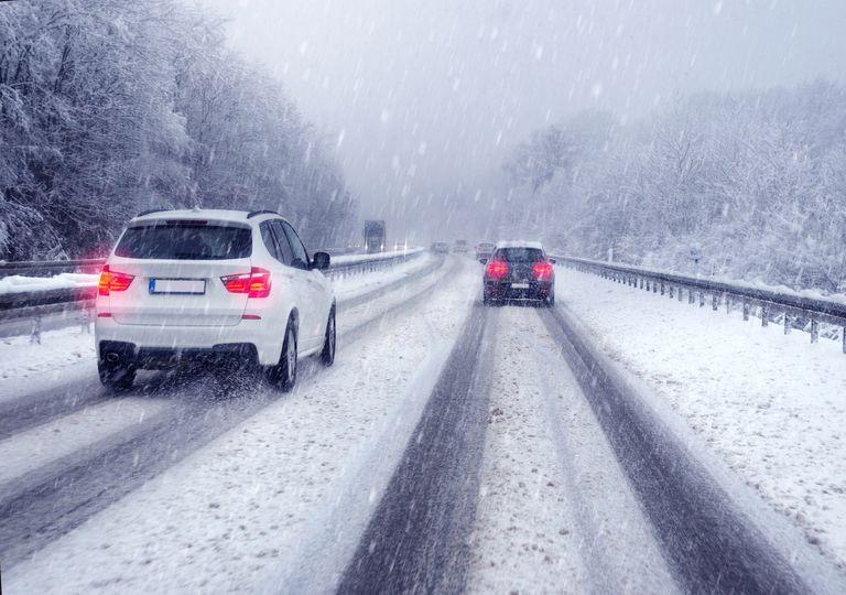 Wintereinbruch im Westen Deutschlands