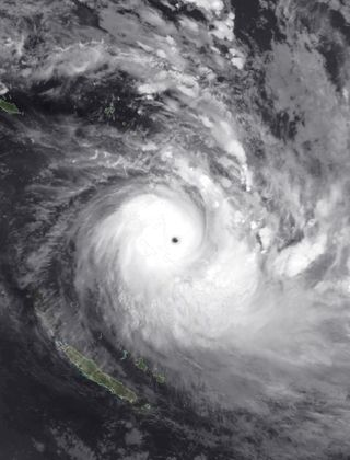 Actividad ciclónica tropical global a 21 de abril de 2020