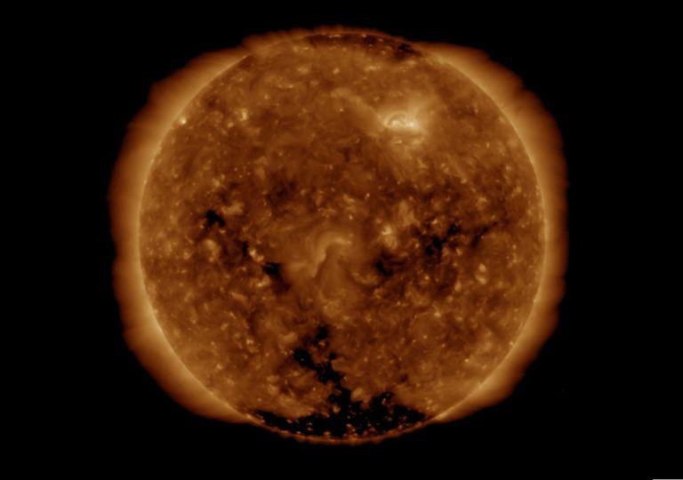 El Sol desde el GOES-16.