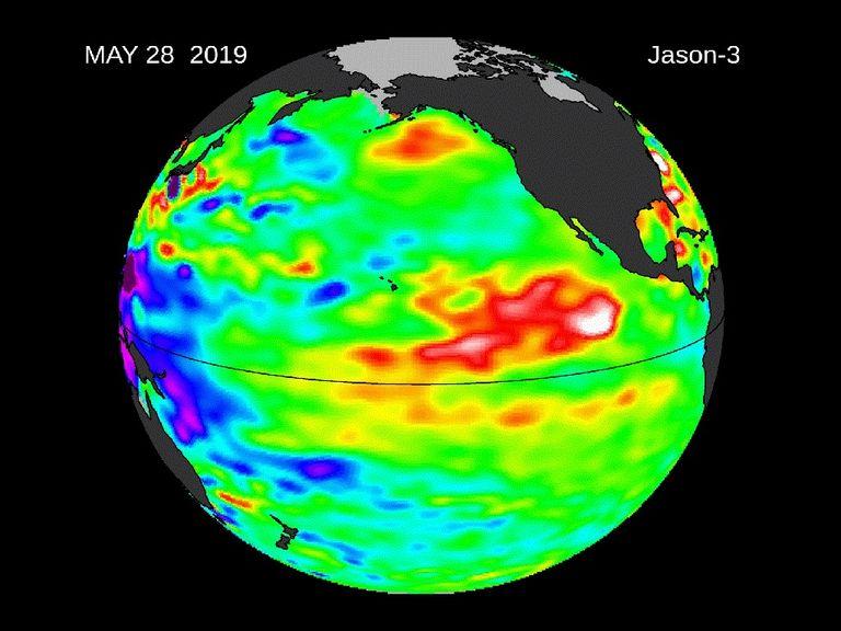 El Niño persiste sobre el Pacífico Central