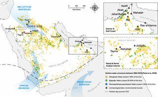 Adaptación climática de los antiguos pobladores en Península Arábiga
