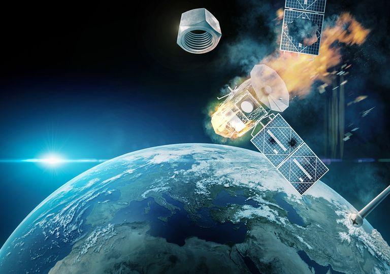 satélites inoperantes