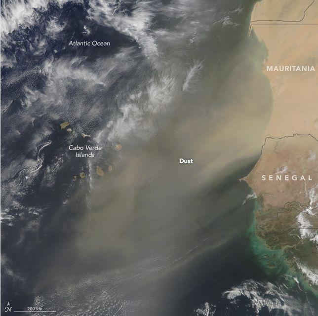 áfrica: La Fuente Más Grande De Polvo A La Atmósfera