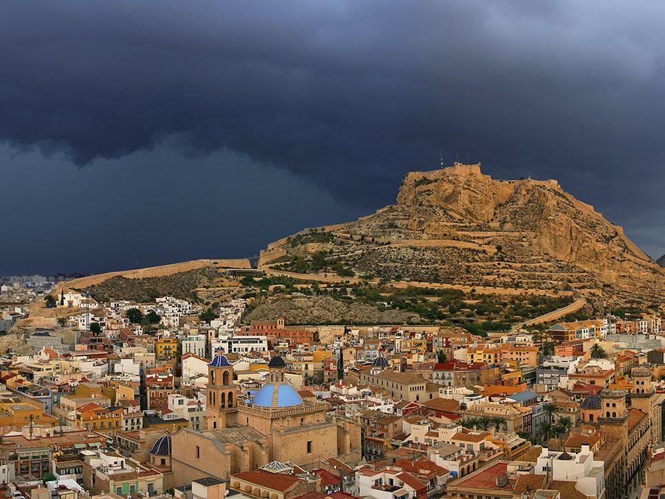 tormenta Alicante