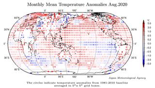 Agosto de 2020: el 4º más cálido desde 1891 según JMA