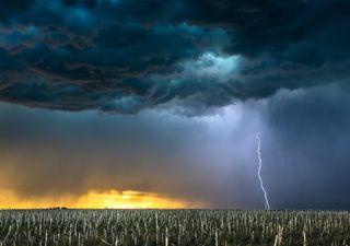 Agosto se despide con ambiente fresco en el norte y tormentas intensas