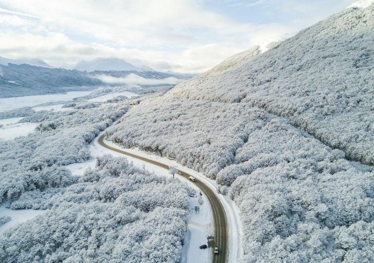 Ushuaia nieve temporal