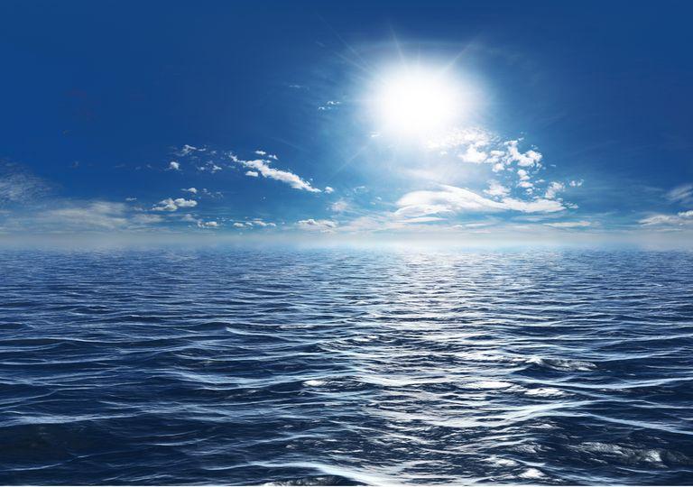 Sol sobre el océano