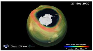 Agujero de ozono 2020: uno de los más grandes y profundos