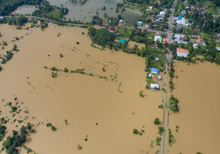 Probables inundaciones en México