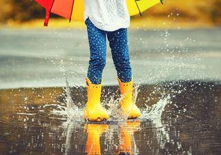 Al fin llegó la tan esperada lluvia a la capital
